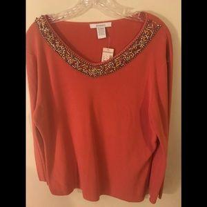 Beautiful Dressbarn dressy sweater XL